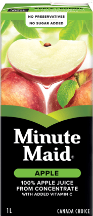 Minute Maid, Apple Juice, 1 L Family Size