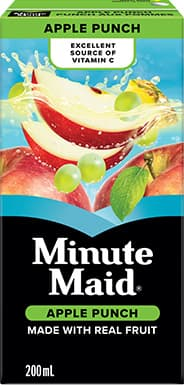 Minute Maid, Apple Punch, 295 mL Frozen Can