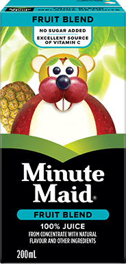 Minute Maid, Fruit Blend Juice, 200 mL Tetra Box