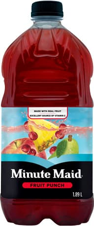 Minute Maid, Fruit Punch, 1.89 L