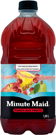 Minute Maid, Fruit Punch, 1,89 L