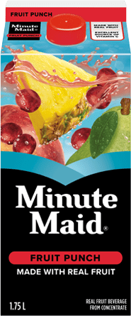 Minute Maid, Fruit Punch, 1.75 L Carton