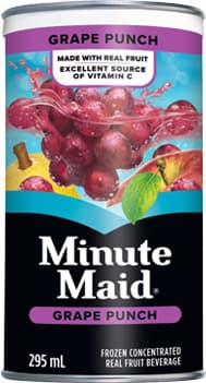 Minute Maid, Grape Punch, 295 mL Frozen Can