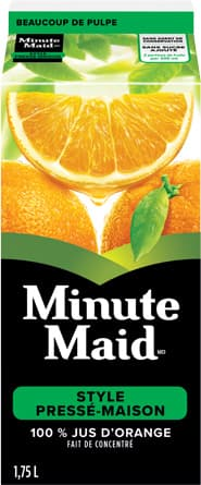 Minute Maid, Home Squeezed Style Orange Juice, 1,75 L Carton