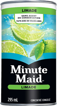 Minute Maid, Pink Lemonade, 295 mL Frozen Can