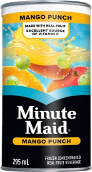 Minute Maid, Mango Punch, 295 mL Frozen Can