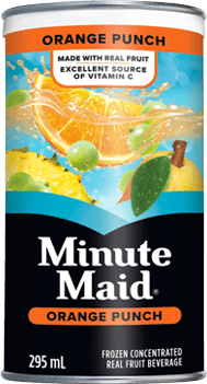 Minute Maid, Orange Punch, 295 mL Frozen Can