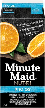 Minute Maid(MD) NUTRI Pro Os, 1,75 L Carton