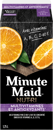 Minute Maid(MD) NUTRI Multivitamines et antioxydants, 1,75 L Carton